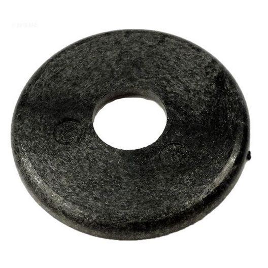 280 Pool Cleaner Plastic Wheel Washer, Black
