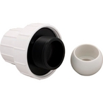65/165/Turbo Turtle Pool Cleaner Universal Wall Fitting Adapter, 1-1/4in. or 2in.