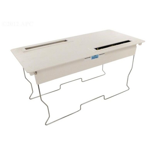 Aqua Products - Square Wire Frame Bottom Lid Assembly, White