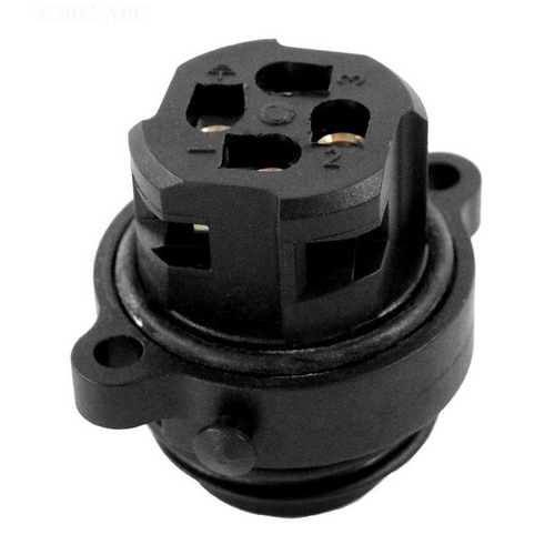 Aquabot - Pool Cleaner Socket Assembly (4-Pin, Male, 4-Wire), 1 on Power Supply