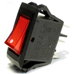 """Aquabot  Pool Cleaner Ultramax Switch (Very Wide 1-1/4 x 1"""" Red 3-Wire) 1 on Power Supply"""