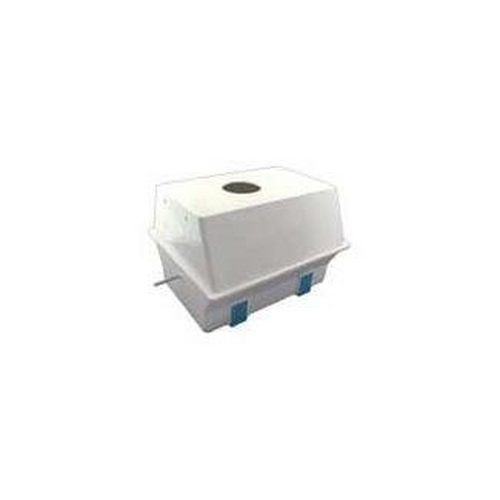 Aqua Products - Body Assembly with Lock Tabs, Pin, Outlet Ring and Inserts, White