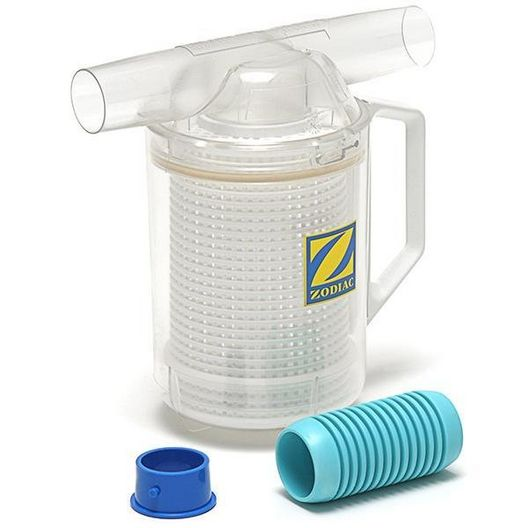 Zodiac - W26705 Baracuda In-Line Leaf Catcher for Suction Side Pool Cleaners - 607665