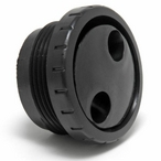 Waterway - Rotating 1-1/2in. MPT Eyeball Assembly, Black - 607691