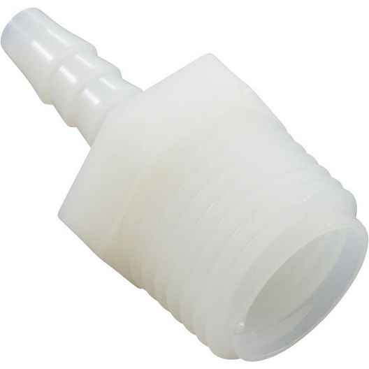 United States Plastic - Adapter, Hose 1/2in. MPT x 1/4in. Barb - 608031