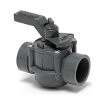 Space Saver Two Port Valve 1 1/2in.-2in. Positive Seal