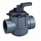 "Pentair - 263027 Two-Way Diverter Valve CPVC 2"" - 2-1/2"" outside slip - 608097"
