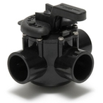 Pentair - Three Port Diverter Valve with 1-1/2in. CPVC Pipe - 608098