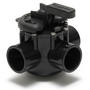 Three Port Diverter Valve with 1-1/2in. CPVC Pipe