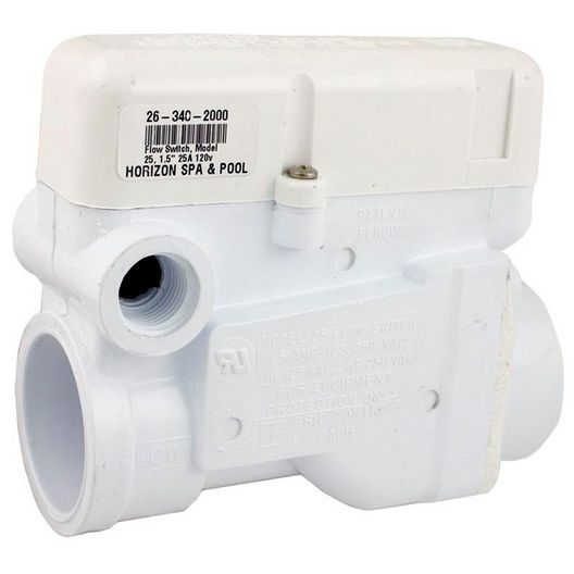 Grid Controls  M25 Flow Switch 1.5in MPT 14 GPM 25 Amp