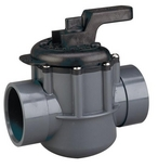 Pentair - Two Port Diverter Valve with 1-1/2in. CPVC Pipe - 608114