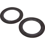 Hayward - Rubber Gasket (Set of 2), 3-7/16in. OD, 2-3/8in. ID, 3/32in. Thick - 608480