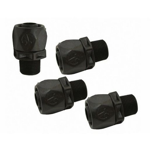Polaris - Soft-Tube Quick Connect Fitting with Retainer, 4-Pack - 60857