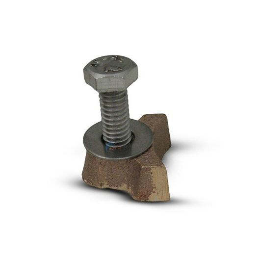 Perma-Cast  Wedge Brass with Bolt F/D Anchor