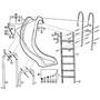 Sr Smith Hand Rail, Slide Frontier Iii - 69-209-047