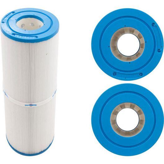Filbur - Filter Cartridge 25 Sq Ft, 4-11/16in. Dia, 11-7/8in. Long, Unicel - 609450