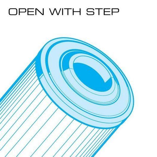 Unicel - 100 sq. ft. Aquatemp Replacement Filter Cartridge - 609578