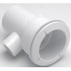 Poly Gunite 1-1/2in. Water Slip x 1/2in. / 1in. Spigot Straight Jet Body Assembly