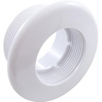 High Volume Standard Suction Wall Fitting - White 1-1/4in. Thread Length