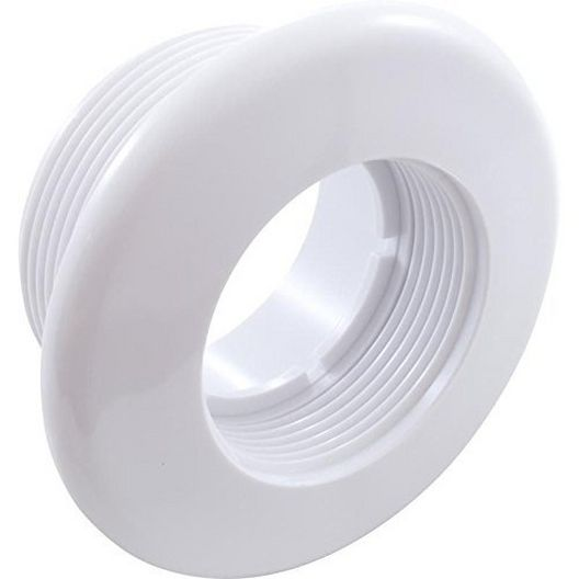 Hydroair - High Volume Standard Suction Wall Fitting - White 1-1/4in. Thread Length - 609867