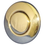 Air Button Trim 15 Classic Touch Trim Kit Polished Brass