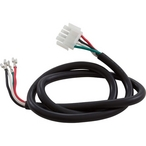 Spa Pump Power Cord, 4-wire 2-Speed, 4-Pin AMP Plug