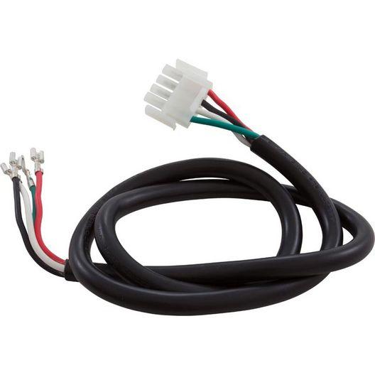 Hydro-Quip  Spa Pump Power Cord 4-wire 2-Speed 4-Pin AMP Plug