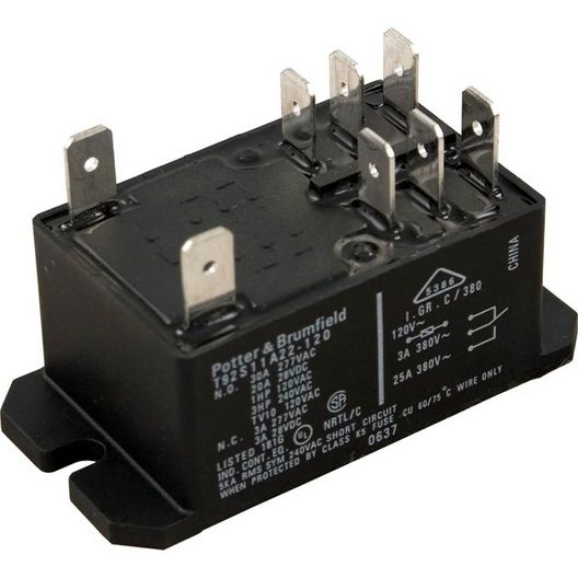 Hydro-Quip - Relay, P&B T92S7A22 120V Dpst - 609934