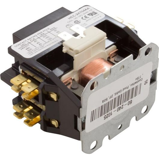 Western Switches - Contactor 120 V Coil, 40 Fla, 50 Res, DPST - 610033