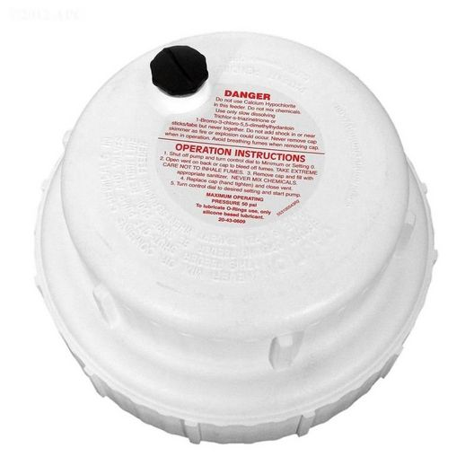 Cap - Max with O-Ring (Includes Keys 8 & 9) - 610050
