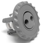 Waterway  Adjustable Mini-Jet Internal Pulsator Gray