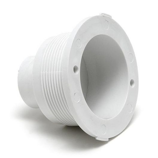 Balboa - Gunite Microssage Spa Jet Wall Fitting with Bearing, White - 610538