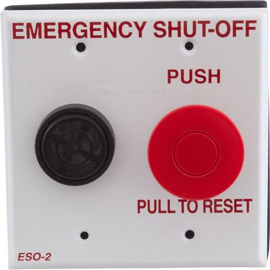 Pentair - Emergency Shut Off Switch with Audible Alarm - 610578