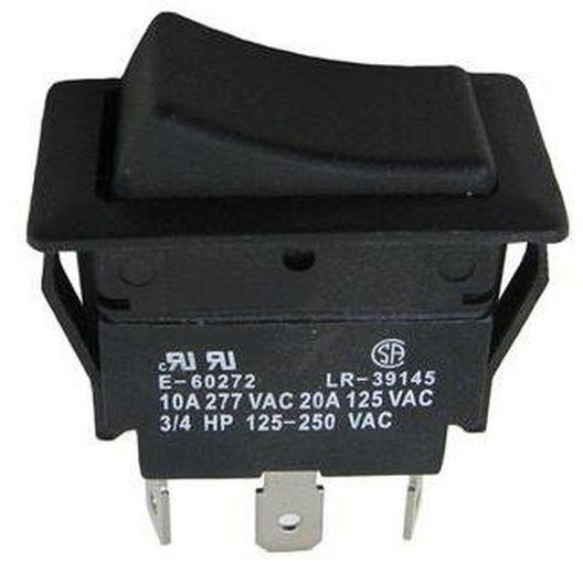 Western Switches - Switch, Rocker SPDT-20A-Necon - 610734