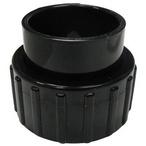 Jacuzzi&reg  Standard Half Union 1-1/2in Slip Black