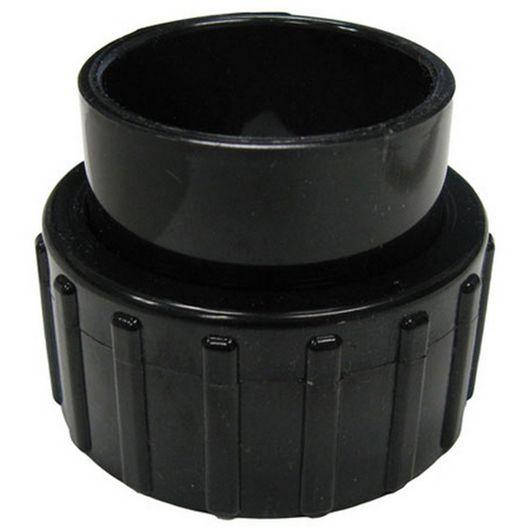 Jacuzzi® - Standard Half Union, 1-1/2in. Slip, Black - 610852
