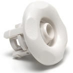 Waterway - Adj. Mini-Jet Internal, Scalloped, Textured White - 611229
