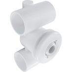 Hydro 1-1/2in. x 1-1/2in. Spa Jet Assembly, White