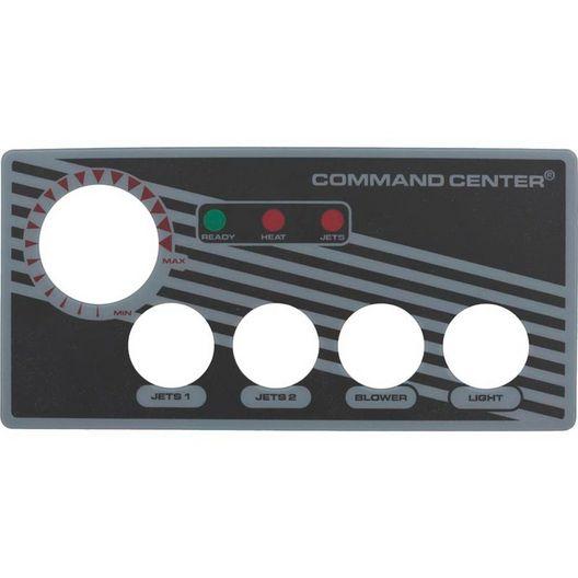 Tecmark - Label, Faceplate, 4 Button Sc - 611283