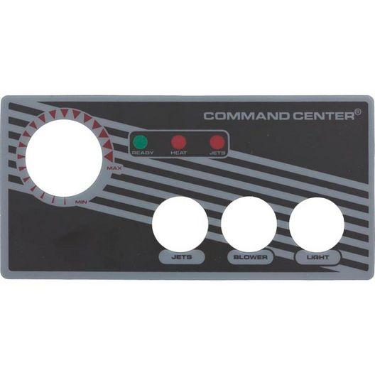Tecmark - Label / Faceplate 3 Button Sc - 611284