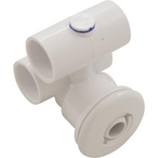 HydroAir - Micro Jet Complete, 1in, x 1in, Air/Water Slip, Smooth White - 611419