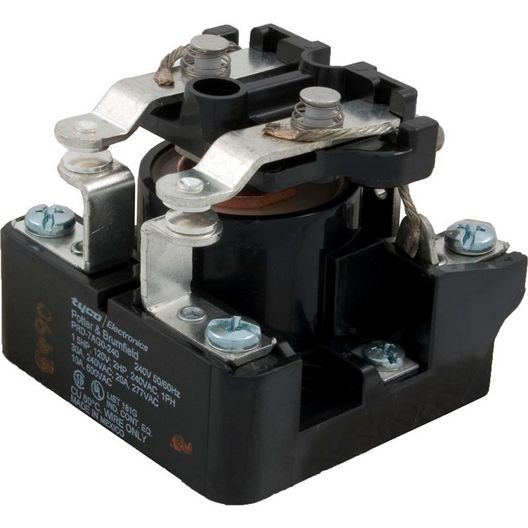 Western Switches - Relay, DPST 30A 240V Coil - 611518