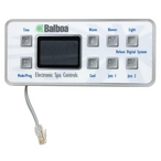 Balboa - Generic Panel VL801D/M2/M3 Series Deluxe Digital Panel (2 Pump and Blower Lite) - 611631