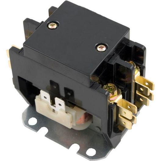 Western Switches - Contactor 208-240 V Coil, 20 Fla, 30 Res, DPST - 611636