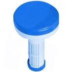 Chlorine/Bromine Floating Dispenser, Blue and White