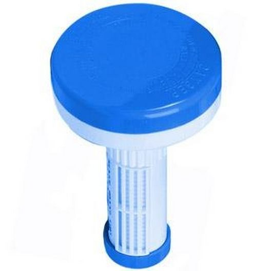 Pentair - Chlorine/Bromine Floating Dispenser, Blue and White - 611725