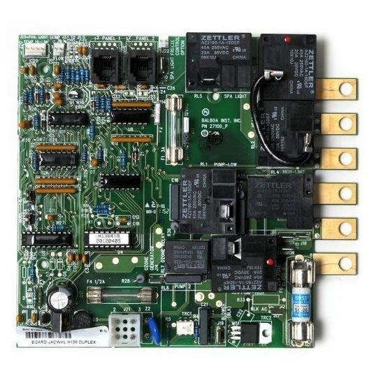 Spas Board H136  Duplex Analog 1 Pump With Phone Plug