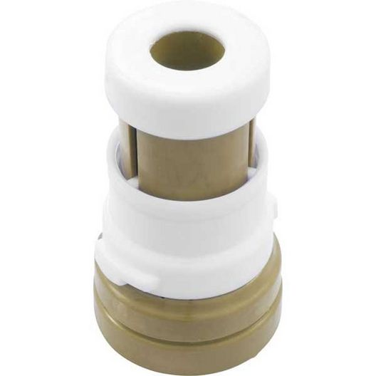 Jandy  Caretaker Pop Up Bayonet Replacement Cleaning Head Pebble Gold