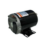 U.S. Motors - Emerson 48Y Thru-Bolt Dual Speed 1/0.12HP Full Rated Pool and Spa Motor - 612939
