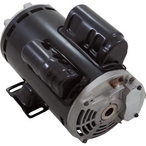 U.S. Motors - Emerson 48Y Thru-Bolt Dual Speed 2/0.25HP Full Rated Pool and Spa Motor - 612942